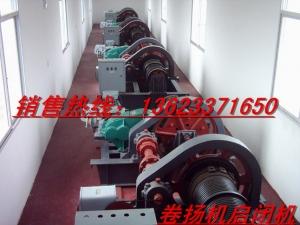 江西電站卷揚機鋼閘門